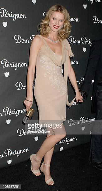Eva Herzigova during Dom Perignon Karl Lagerfeld and Eva Herzigova Host An International Launch To Unveil The New Image Of Dom Perignon Rose Vintage...