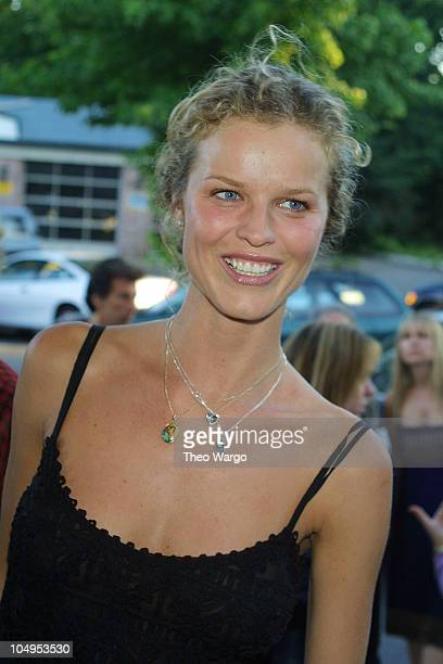 Eva Herzigova during Private screening of 'Dinner With Friends' at the UA Cinemas in Southampton New York in Southampton New York United States