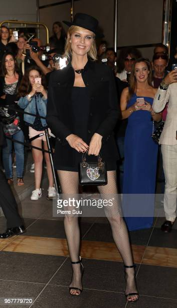Eva Herzigova during the 71st annual Cannes Film Festival at on May 12 2018 in Cannes France