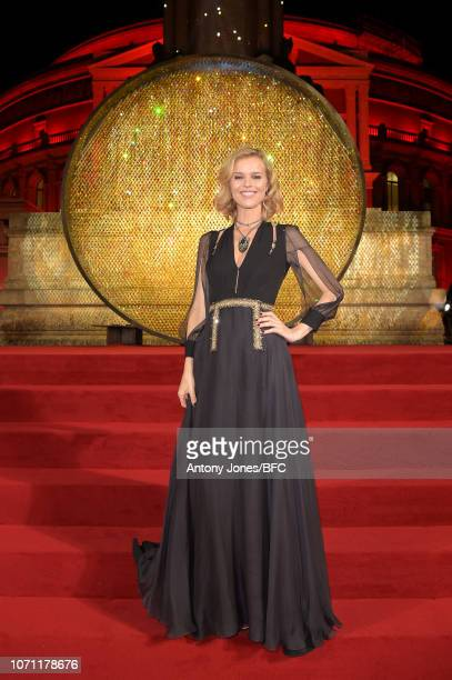 Eva Herzigova during The Fashion Awards 2018 In Partnership With Swarovski at Royal Albert Hall on December 10 2018 in London England
