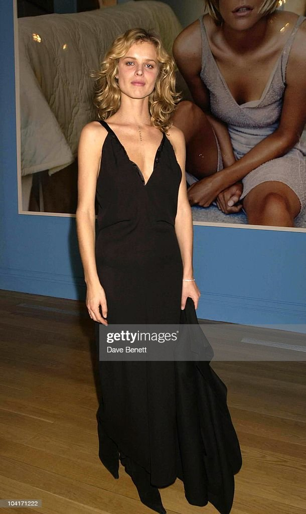 Eva Herzigova, Fashion Photographer Mario Testino Attracted All The Most Glamorous Women In London To His Exhibition At The National Portrait Gallery.