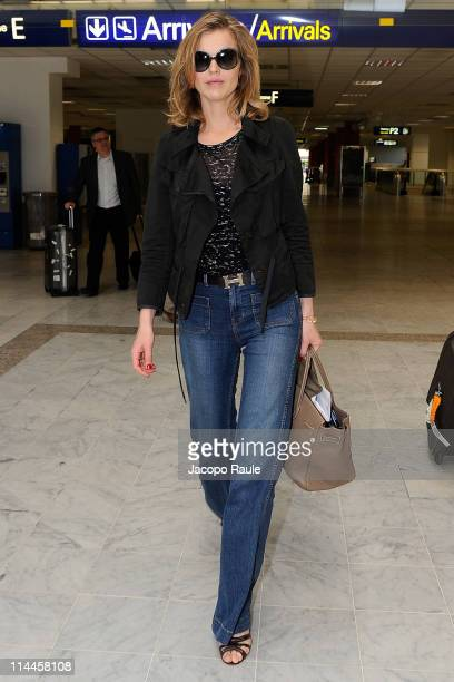 Eva Herzigova is seen during the 64th Annual Cannes Film Festival on May 20 2011 in Nice France