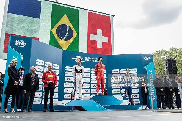 Eva Herzigova JeanEric Vergne Lucas Di Grassi Sebastien Buemi Manuel Valls Anne Hidalgo Rachida Dati Jean Todt Prince Albert II of Monaco and Sports...