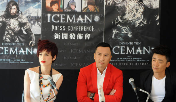 Iceman cometh 3d photocall the 66th annual cannes film festival eva huang donnie yen and wang boaqiang attend the iceman cometh 3d photocall voltagebd Choice Image