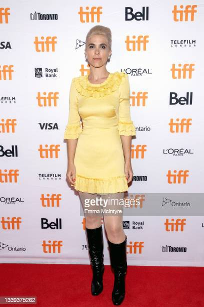 """Eva Husson attends the """"Mothering Sunday"""" Premiere during the 2021 Toronto International Film Festival at Princess of Wales Theatre on September 09,..."""