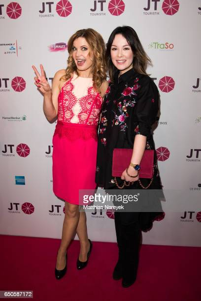 Eva Imhof and Nela Lee the JT Touristik party at Hotel De Rome on March 9 2017 in Berlin Germany