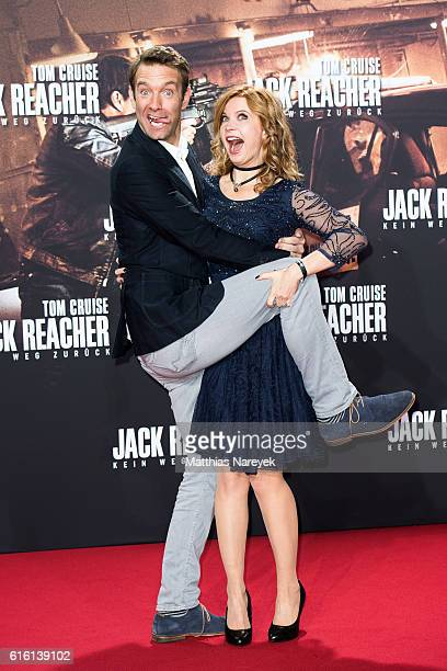 Eva Imhof and Peter Imhof attend the 'Jack Reacher: Never Go Back' Berlin Premiere at CineStar Sony Center on October 21, 2016 in Berlin, Germany.