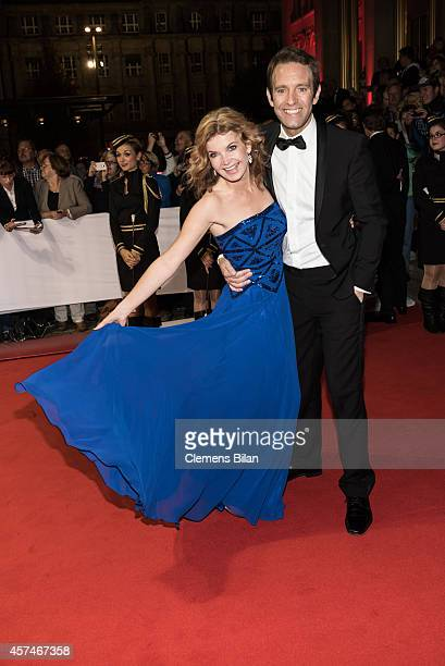 Eva Imhof and Peter Imhof attend the Opera Ball Leipzig at Opernhaus on October 18, 2014 in Leipzig, Germany.