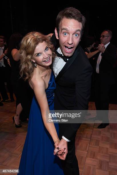 Eva Imhof and Peter Imhof attends the Opera Ball Leipzig at Opernhaus on October 18, 2014 in Leipzig, Germany.
