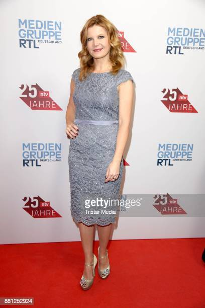 Eva Imhof attends the 25 years anniversary ntv event at Bertelsmann Repraesentanz on November 28 2017 in Berlin Germany