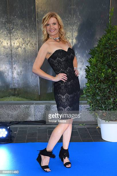 Eva Imhof attends the Alcatel Entertainment Night on September 2, 2016 in Berlin, Germany.