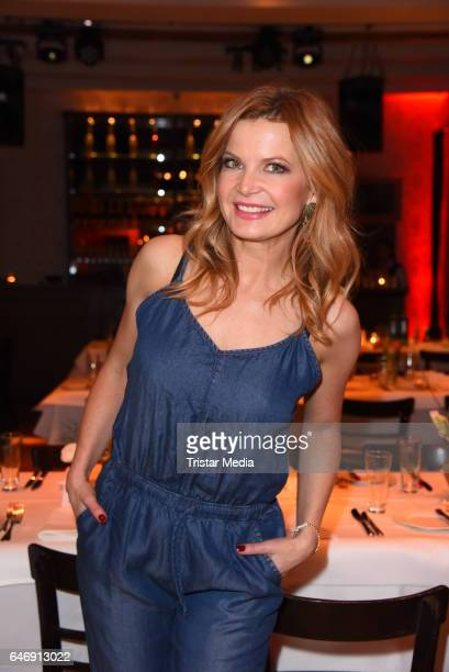 Eva Imhof attends the Ernsting's family Music Fashion Dinner on March 1 2017 in Berlin Germany