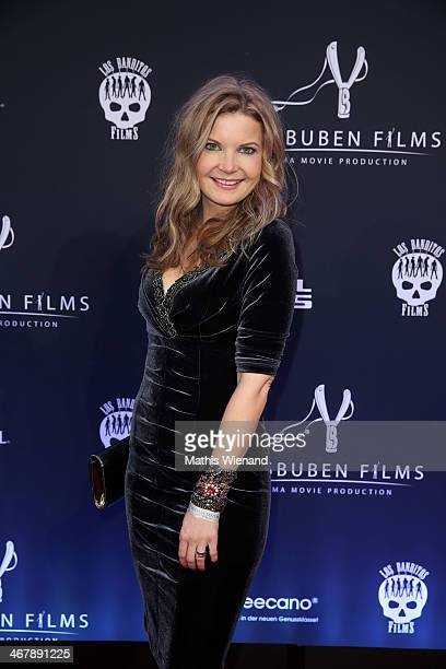 Eva Imhof attends the LB Film Celebrates 10th Anniversary at Hotel Intercontinental on February 8 2014 in Berlin Germany