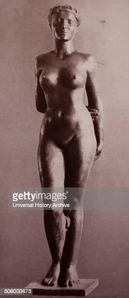 Eva in Bronze by Kurt Zimmermann Published in 'Die Kunst im deutschen Reich' was first published in January 1937 by Gauleiter Adolf Wagnerand later...