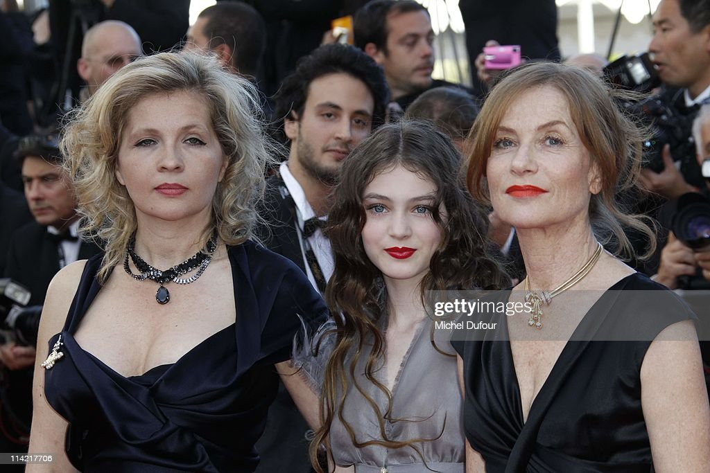 a97d25018ed Eva Ionesco, Anamaria Vartolomei and Isabelle Huppert attend 'The ...