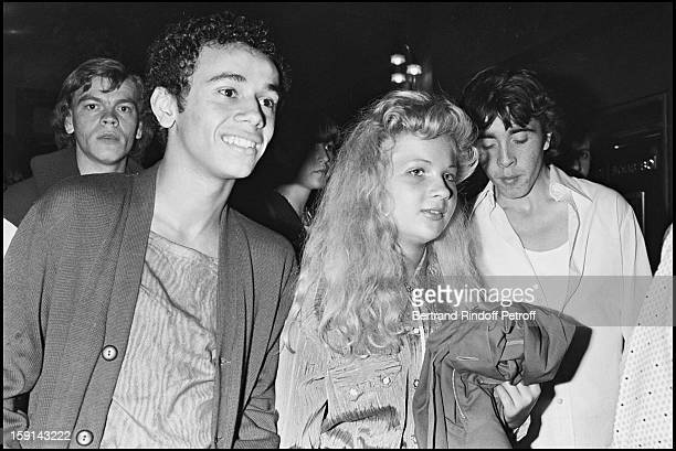 Eva Ionesco and guest attend the Punk party at Palace night club in Paris in 1978
