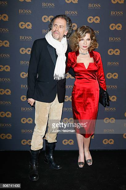Eva Ionesco and Simon Liberati attend the GQ Men Of The Year Awards 2015 as part of Paris Fashion Week on January 25 2016 in Paris France