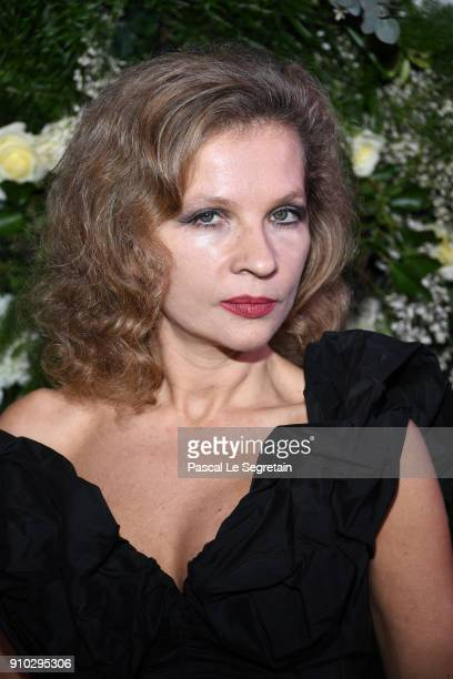 Eva Ionesco attends the 16th Sidaction as part of Paris Fashion Week on January 25 2018 in Paris France