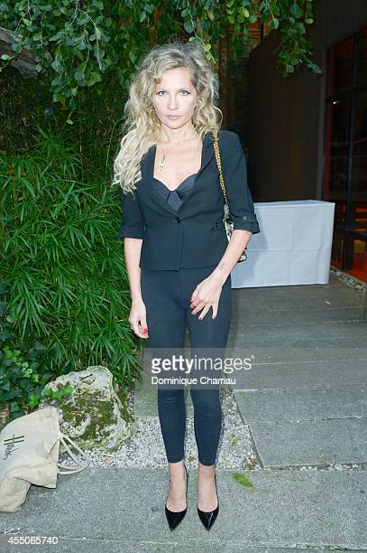 Eva Ionesco attends the 'Louboutin' Documentary Premiere at Cinema La Pagode on September 9 2014 in Paris France