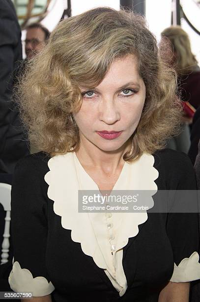 Eva Ionesco attends the Schiaparelli Haute Couture SpringSummer 2016 show as part of Paris Fashion Week on January 25 2016 in Paris France