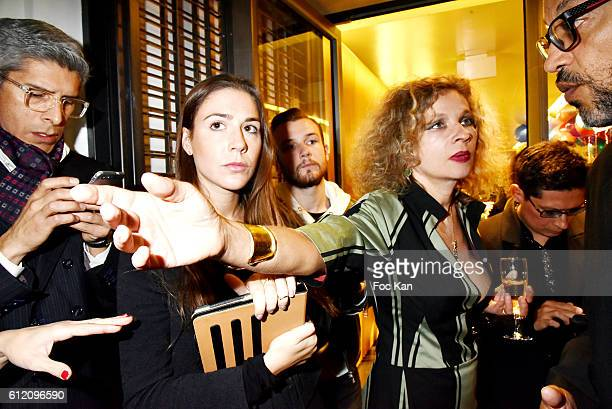 Eva Ionesco attends the Vivienne Westwood New Paris Store Opening Cocktail as part of the Paris Fashion Week Womenswear Spring/Summer 2017 on October...