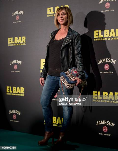 Eva Isanta attends 'El Bar' premiere at Callao cinema on March 22 2017 in Madrid Spain
