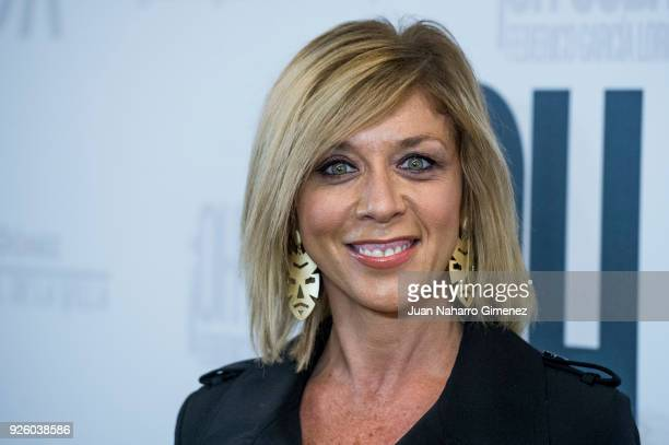 Eva Isanta attends 'ÁOh Cuba' premiere at Fernan Gomez Theater on March 1 2018 in Madrid Spain