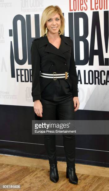 Eva Isanta attends 'Oh Cuba' premiere at Fernan Gomez Theater on March 1 2018 in Madrid Spain