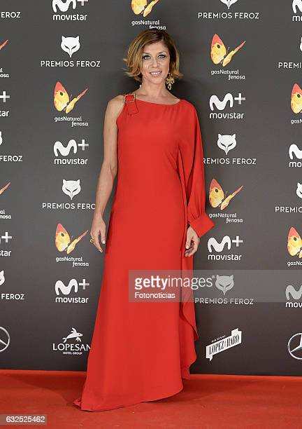 Eva Isanta attends the 2016 Feroz Awards ceremony at the Palacete de los Duques de Pastrana on January 23 2017 in Madrid Spain
