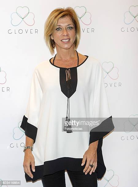 Eva Isanta attends the 'Clover' events agency presentation at the Room Mate Oscar Hotel on November 15 2016 in Madrid Spain