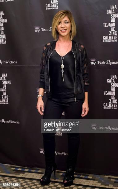 Eva Isanta attends 'Una Gata Sobre Un Tejado de Zinc Caliente' Madrid Premiere on March 23 2017 in Madrid Spain