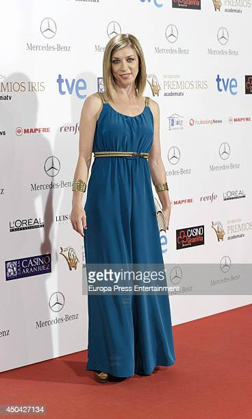 Eva Isanta attends XVI Iris Awards 2014 gala on June 10 2014 in Madrid Spain