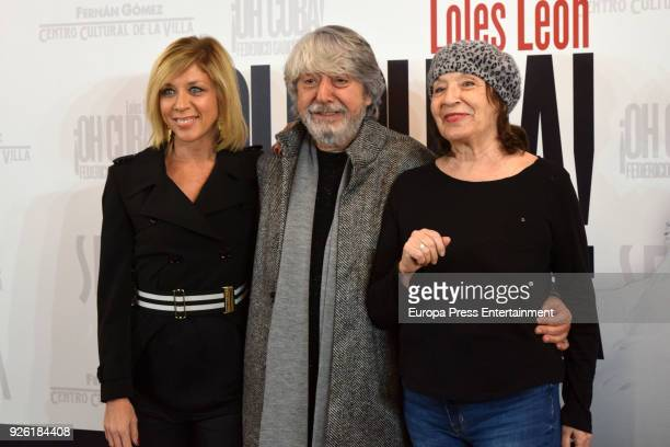Eva Isanta Ricardo Arroyo and Petra Martinez attend 'Oh Cuba' premiere at Fernan Gomez Theater on March 1 2018 in Madrid Spain