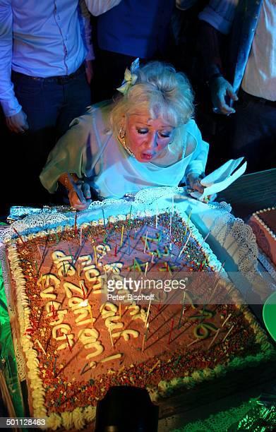Eva Jacob Feier zum 70 Geburtstag von Eva Jacob Lokal Hooters Sachsenhausen Frankfurt/Main Hessen Deutschland Europa PartyMeile Geburtstagsfeier...