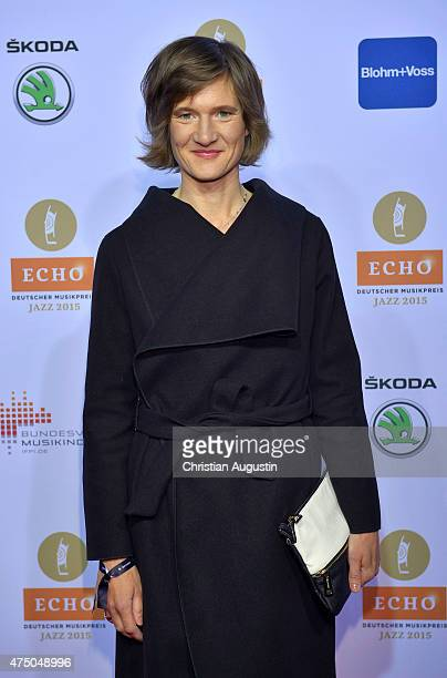 Eva Kruse attends the Echo Jazz 2015 at the dockyard of BlohmVoss on May 28 2015 in Hamburg Germany
