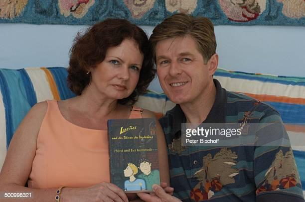 Eva Kummeth Ehemann Horst Hummeth Homestory Buchtitel Lucius und der Dämon des Verderbens am Rande der Dreharbeiten zum ZDFFilm FloridaTräume Fort...