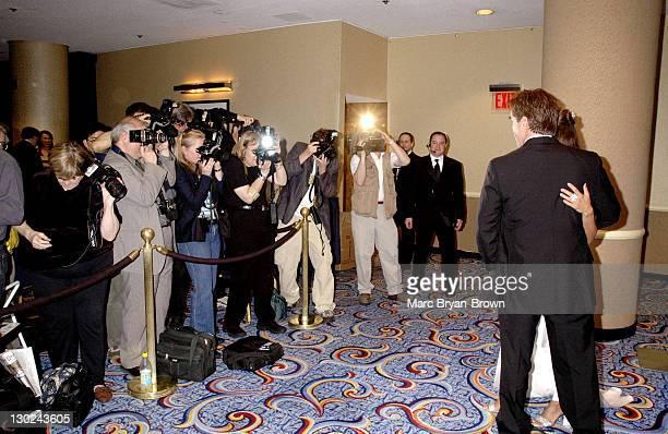 Eva La Rue and Callahan John Callahan during 31st Annual NATAS Daytime Emmy Craft Awards Show at Mariott Marquis in New York City New York United...