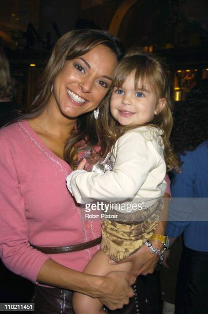 Eva La Rue and daughter Kaya Callahan during Grand Opening of The World of Disney Flagship Store Inside at The World of Disney Flagship Store in New...