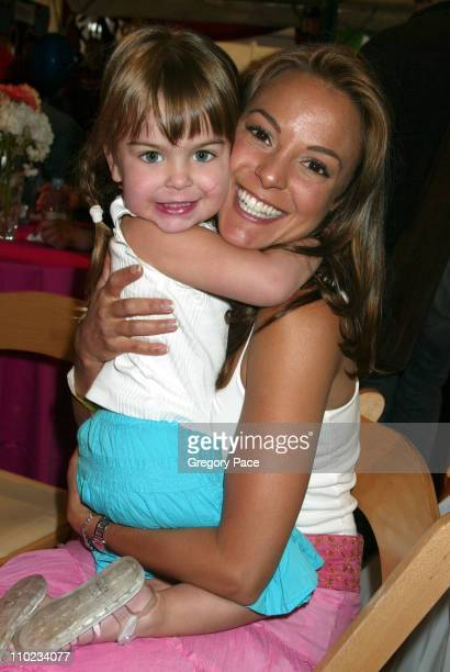 Eva La Rue and daughter Kaya during 12th Annual Kids for Kids Celebrity Carnival to Benefit the Elizabeth Glaser Pediatric AIDS Foundation Arrivals...