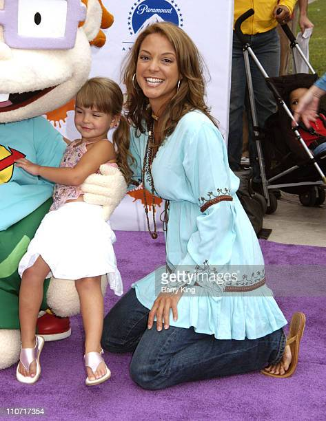 Eva La Rue and daughter Kaya during Fairypalooza Premiere of 'Rugrats Tales From the Crib Snow White' Arrivals at Nickelodeon Animation Studios in...