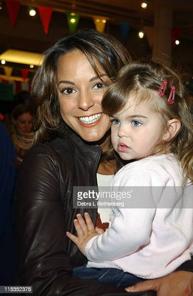 Eva La Rue and her daughter Kaya during 3rd Annual Children's Day Artrageous for the Edwin Gould Services for Children and Families at The...