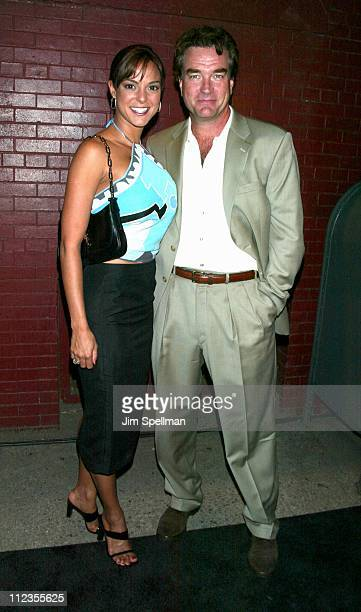 Eva La Rue and husband John Callahan during Entertainment Weekly's 1st Annual IT List Party at Milk Studios in New York City New York United States