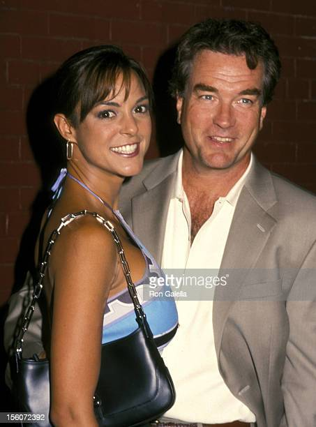Eva La Rue and husband John Callahan during Entertainment Weekly's 1st Annual 'IT List' Party at Milk Studios in New York City New York United States