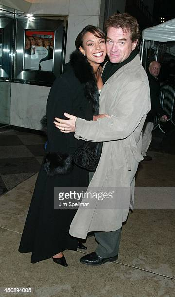 Eva La Rue and husband John Callahan during New York Premiere of The Importance of Being Earnest at The Paris Theatre in New York City New York...