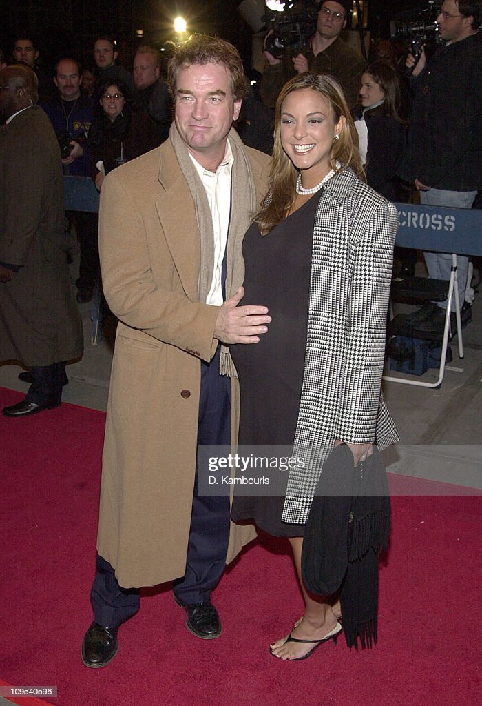 Eva La Rue (right) and husband John Callahan during The First Annual WorldTrAID911 Benefit at Hammerstein Ballroom in New York City at Hammerstein Ballroom in New York City, New York, United States.