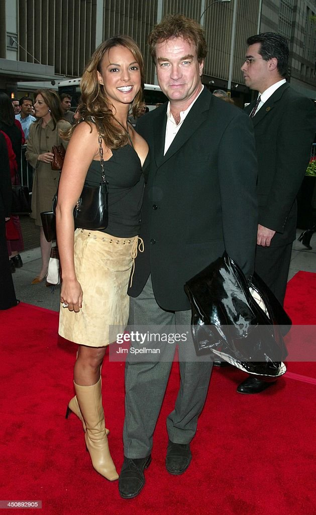 Eva La Rue and husband John Callahan during Unfaithful New York Premiere at Ziegfeld Theatre in New York City, New York, United States.