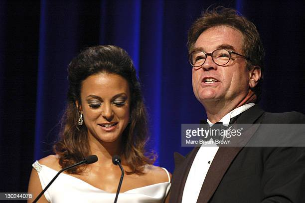 Eva La Rue and John Callahan during 31st Annual NATAS Daytime Emmy Craft Awards - Show at Mariott Marquis in New York City, New York, United States.