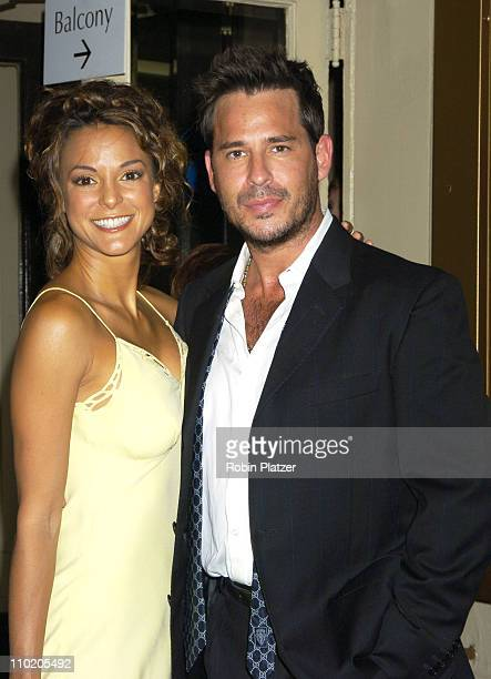 Eva La Rue and Ricky Paull Goldin during Dracula The Musical Opening Night at The Belasco Theatre in New York City New York United States