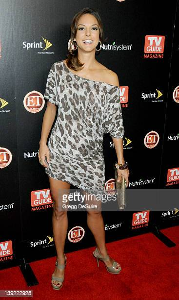 Eva La Rue arrives at TV Guide Magazine's Hot List Party at SLS Hotel on November 10 2009 in Los Angeles California