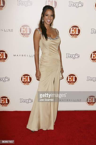 Eva La Rue arrives at Vibiana for the 13th Annual Entertainment Tonight and People magazine Emmys After Party on September 20, 2009 in Los Angeles,...